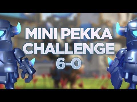 6-0 Mini Pekka Challenge | Clash Royale Magyarul