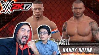 ÇELİK KAFES DÖVÜŞÜ! | WWE 2K17 İKİ KİŞİ OYNADIK!