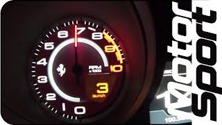 0 300 km h ferrari ff launch control motorsport