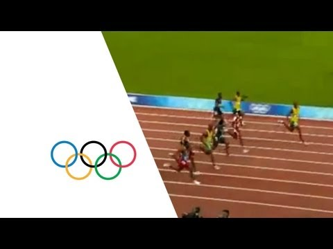 Usain Bolt World Record – Mens 100m Final – Beijing 2008 Olympic Games