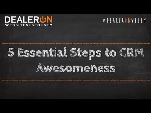 5 Essential Steps to CRM Awesomeness