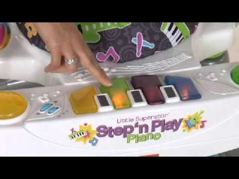 Fisher-Price Step N Play Piano - Babies R Us