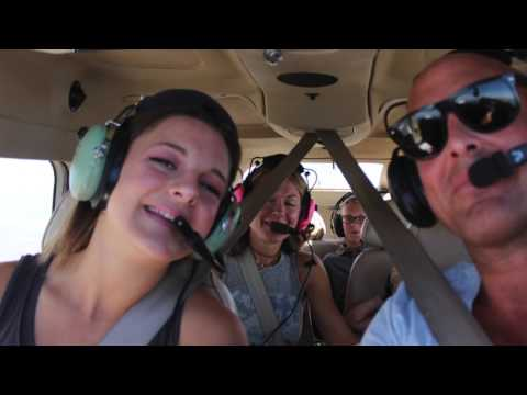 First Family trip In The Cessna 206