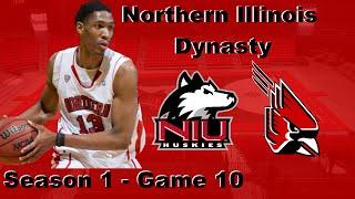 NCAA Basketball 09 Coaching Carousel: Northern Illinois Dynasty - Episode 5, Season 1, Games 10-12