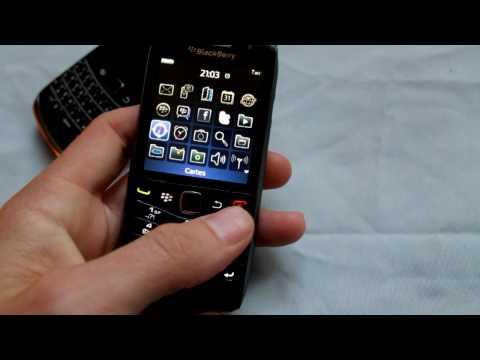 Test / Prise en main : Blackberry Pearl 9100 / 9105
