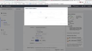 كيفية إنشاء جمهور مخصص من قائمة البريد الإلكتروني الخاصة بك مع Facebook ads