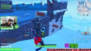 Fortnite Ice Storm Full Event Giant Lich King & Blizzard 🔵 Playing Fortnite High 🔥