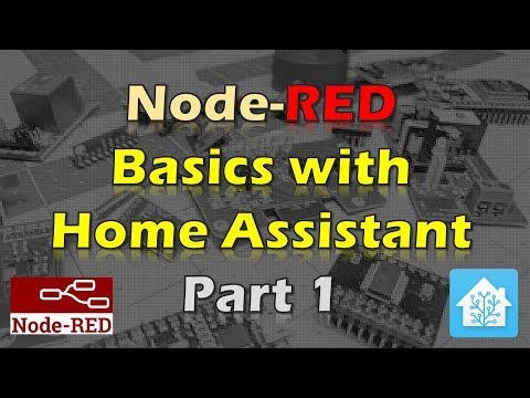 Node-RED Basics with Home Assistant - Part 1 - YouTube