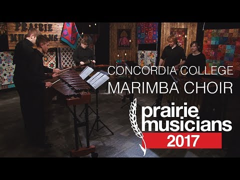 Prairie Musicians: Concordia College Marimba Choir