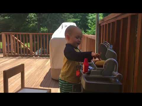 I will never be as cool as my 2 year old nephew throwing a Labor Day BBQ