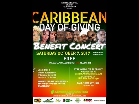 Caribbean Day of Giving Livestream