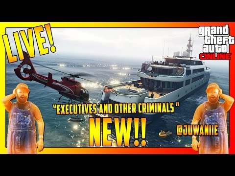 GTA5 DLC Gameplay! - New Yacht, Mansions, Cars & More! Live!