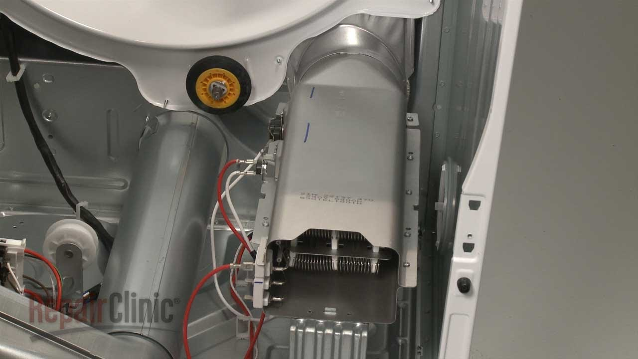 LG Electric Dryer Won't Heat? Heating Element #5301EL1001J  YouTube