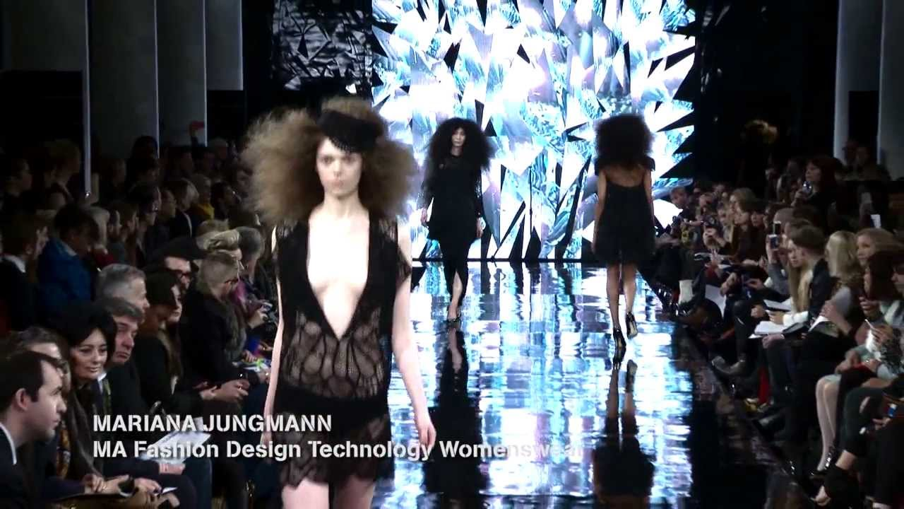 London College Of Fashion Ma14 Catwalk Youtube