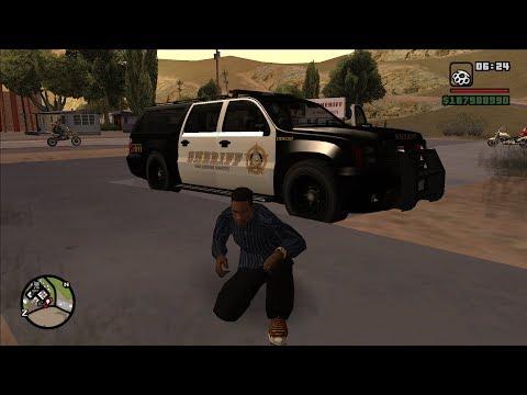 GTA San Andreas [PC] GTA 5 Police Vehicles Pack [1440p]