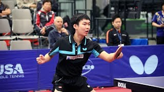 Baixar 2017 US Open Table Tennis Championships - Men's Singles Round of 16 - Table 1 (Day 2 Morning)