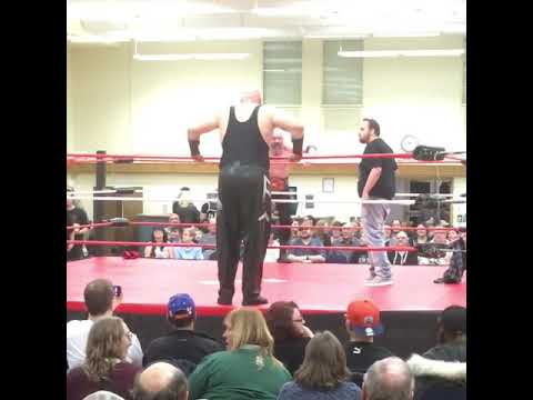 Big Rig - Wrestler Entrance Goes Way Wrong, Over The Top!