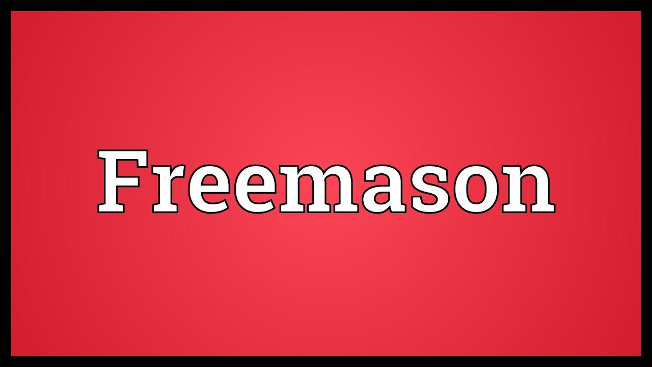 Freemason Meaning
