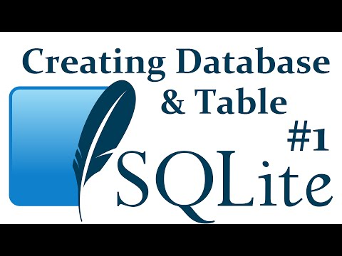Creating a database, table, and inserting - SQLite3 with Python 3 part 1