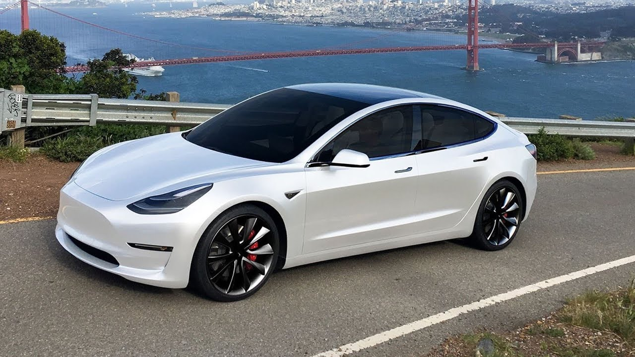 All Wheel Drive Tesla Model 3 Performance Specs Finally Revealed