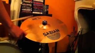 sabian b8 pro 16 medium crash sound test