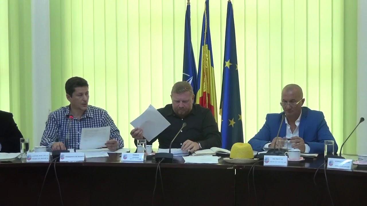 Ședință extraordinară - Consiliul Local Câmpia Turzii (10.07.2018)