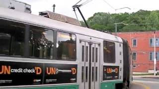 MBTA Green Line Heath Street Branch Ride