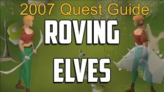 Runescape 2007 Roving Elves Quest Guide