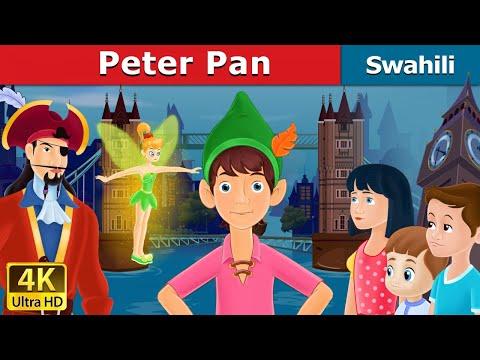 Peter Pan in Swahili   Hadithi za Kiswahili   Katuni za Kiswahili   Swahili Fairy Tales