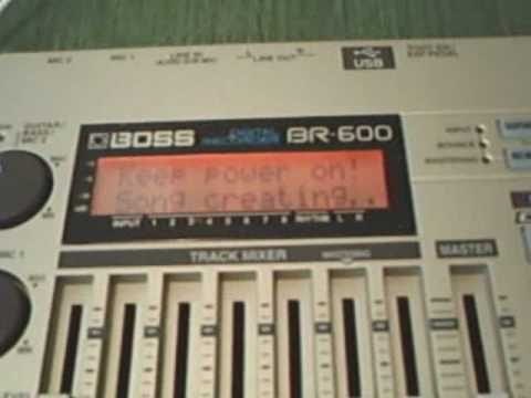 BR-600 -  Importing & Exporting MP3 or Wave tracks - Part 1