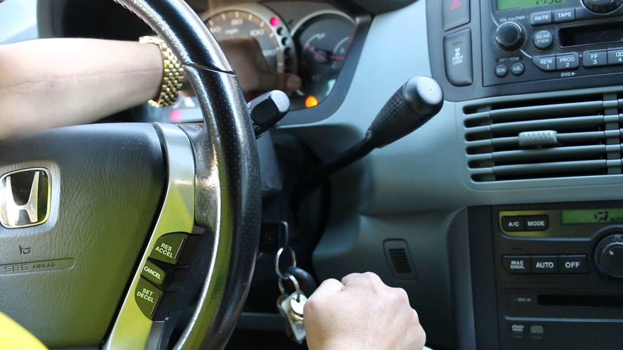 How To 2004 Honda Pilot Maintenance Required Light Reset
