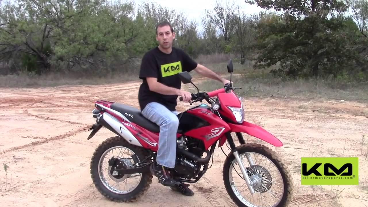 Enduro R For Sale >> RPS 250cc Hawk Dirt Bike - YouTube