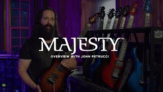 John Petrucci Introduces the 2019 Ernie Ball Music Man Majesty