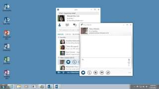 Lync   Presence, IM, and Contacts in Lync 2013   Instant messaging   Video 3 of 4