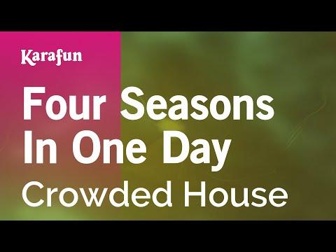 Karaoke Four Seasons In One Day - Crowded House *
