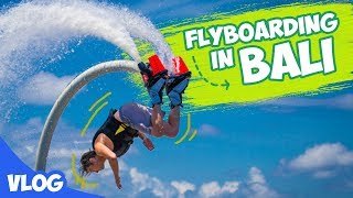 ETA TERBANGKANLAH !! - Fly Boarding di Bali