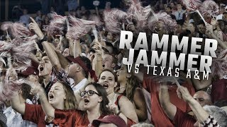 Watch as fans celebrate Alabama's 27-19 win over Texas A&M with Rammer Jammer