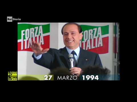 (Giorno & Storia) 27 marzo 1994 ELEZIONI pro Berlusconi. Forza Italia diventa primo partito