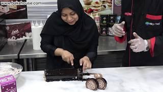 How To Make Chocolate Swiss Roll 4th Baking Class By | Milkyz Food Chef Naeem