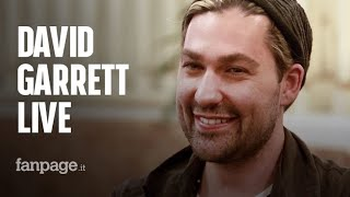 """David Garrett on tour: """"Rock and classical music are quite similar, It's alla about hard work"""""""