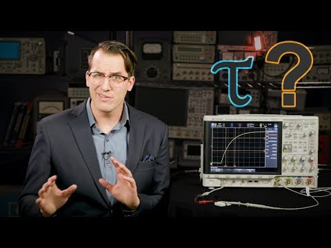 How to Measure the Time Constant with an Oscilloscope
