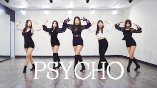 Gambar cover 레드벨벳 Red Velvet - 'Psycho (사이코)' | 커버댄스 DANCE COVER | 안무 거울모드 PRACTICE MIRRORED (1:25~)