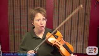 Violin Lesson - How to Play Brahms