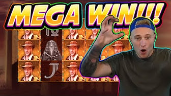 MEGA WIN!! Book Of Ra 6 BIG WIN - Casino Games from Casinodaddy live stream