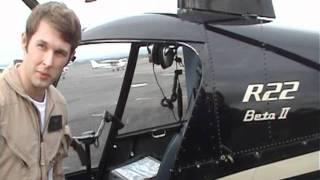 Мой полет на вертолете  (Robinson R-22 Beta2)(Покатали, дали порулить. Оказалось управлять вертолетом сложно. Все что в фильме - управляет инструктор...., 2011-05-12T23:04:11.000Z)