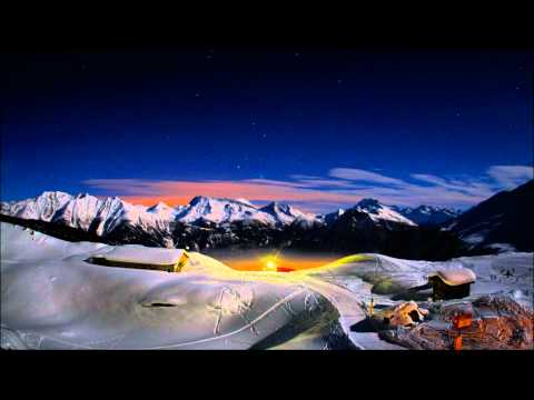 15 hour sunset & sunrise time-lapse in the Swiss high Alps