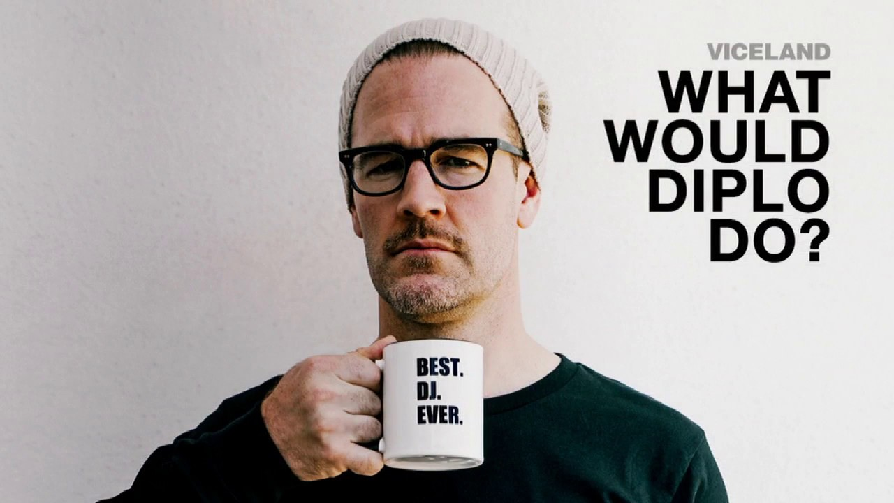 "Actor James Van Der Beek Talks Viceland's ""What Would ..."