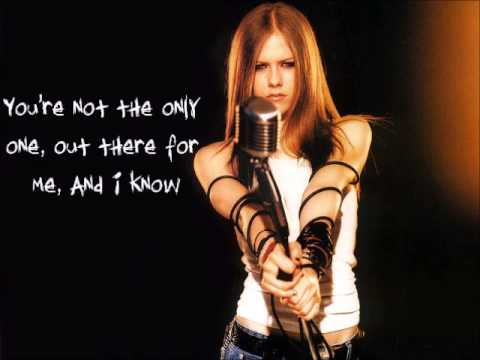 Not The Only One Bside Avril Lavigne lyrics