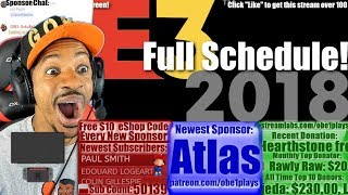 Here is the entire schedule for E3 explained in one awesome video! ...