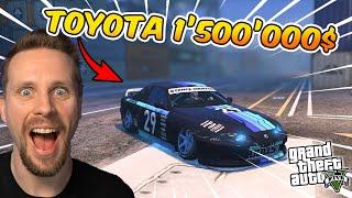 KÖPER EN TOYOTA FÖR 1'500'000 $ I GTA 5